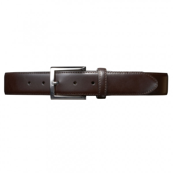 detail SF Stitched Leather Belt